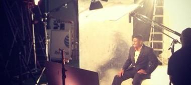 Troy In The Studio